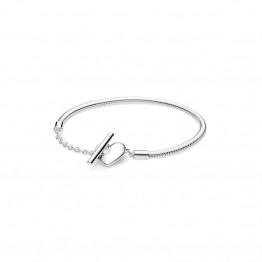 Heart-shaped Fashion New Silver Bracelet DOS9856