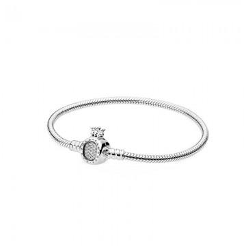 Crown Silver Bracelet DOS9886