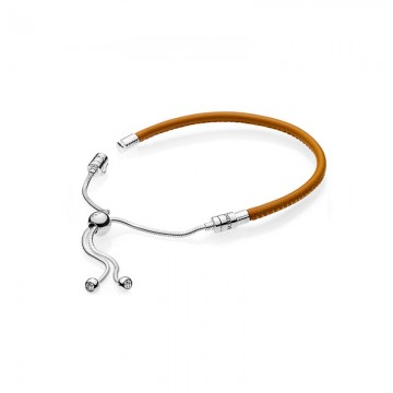 Moments Leather Bracelet Chain DOS9910