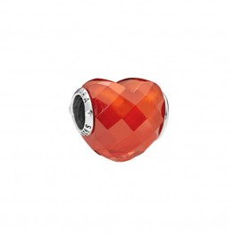 Love Heart Glass Charm DOL9903