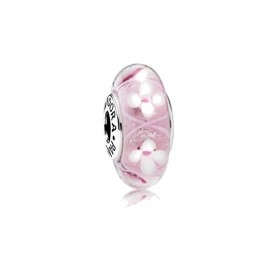 Flower Sea Glass Charm DOL9925