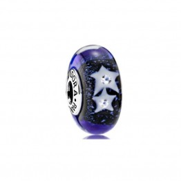 Stars In The Night Sky Glass Charm DOL9932