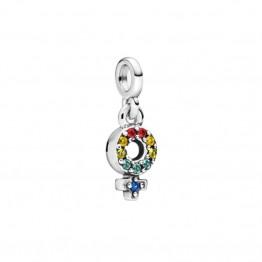 ME Series Pendants Silver Bracelet DOM9986