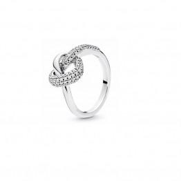 New Heart Shape Silver Ring DOZ9735