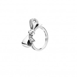 Bow Silver Ring DOZ9786