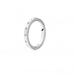 Logo Silver Ring DOZ9788