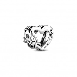 Love Mom Sterling Silver Charm DOCY9797