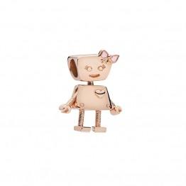 Bella Robot Alloy Charm MGJ0066