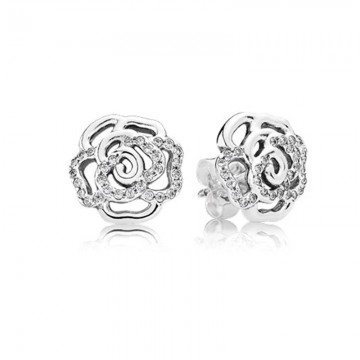 Flashing Rose Earring DOI9940
